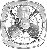 Crompton Drift Air Plus Exhaust Fan (300 mm/12-inch, Silver)