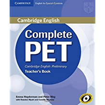 Complete PET for spanish speakers. Teacher's book