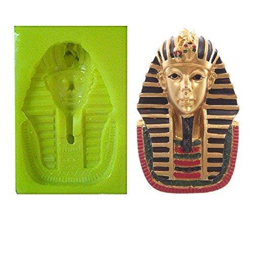 Inception Pro Infinite Molde de Silicona para Uso Artesanal de tuthankamon Faraón Egipcio - También Adecuado para el Jabón