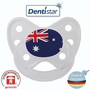 Dentistar Silikon Gr. 1 mit Ring Australien mit Schnullerbox