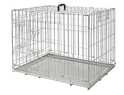 Nobby 62301 Pet Transport Cage Collapsible Galvanised