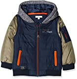 NAME IT Baby - Jungen Jacke NMMMOLE Jacket, Mehrfarbig Dress Blues, 92