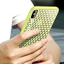 JODON, Phone Funda Cover, Para IPhone X, TPU + PC PureBoost triángulo patrón