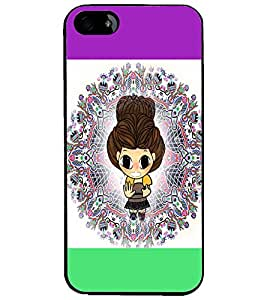 PrintDhaba Cartoon D-5860 Back Case Cover for APPLE IPHONE 4S (Multi-Coloured)