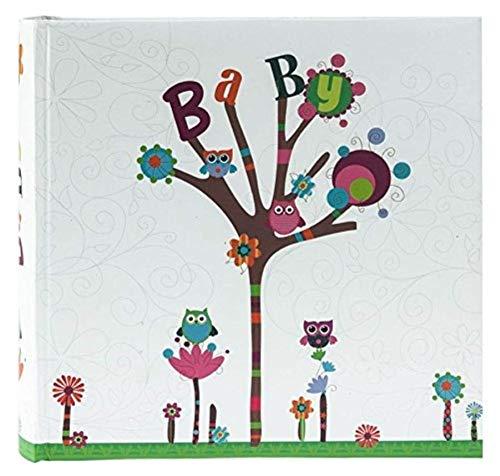 Goldbuch 17210 Einsteckalbum Kleine Eule für 200 Bilder im Format 10 x 15 cm, ca. 23 x 22 cm