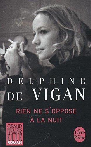 Rien ne s'oppose  la nuit - Grand prix des Lectrices de Elle 2012