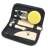 Hölzernes Tonwaren Werkzeug Satz, Wartoon 8 Stück Modellier-Werkzeug Sculpting Werkzeug Clay Modellieren KastenWood Sculpey Skulptur Ton Werkzeuge Eingestellt