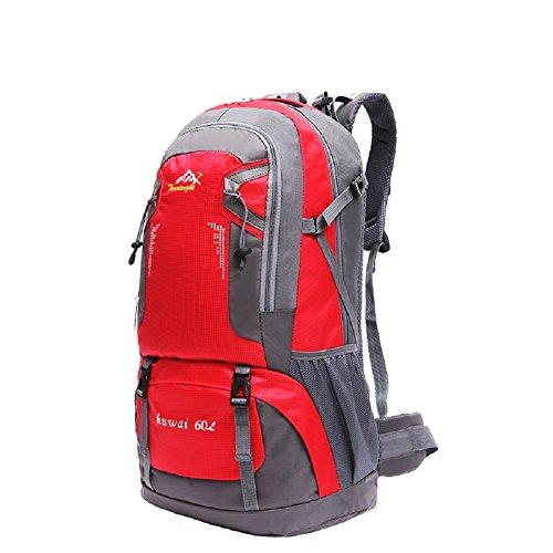 Imagen de  de marcha, senderismo  y bolsas camping viaje trekking  para escalada montaña red 4, 60l