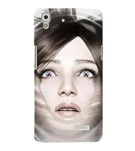 Takkloo Hollywood Actress Super model,hot Actress, Girl in Grey Eyes, Girl in Action, Horror scene) Printed Designer Back Case Cover for Oppo R7 :: Oppo R7 Lite