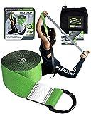 EverStretch Yoga Strap per lo stretching Premium Quality 8ft. Cintura a D regolabile per Yoga, Pilates, Fitness e Fisioterapia
