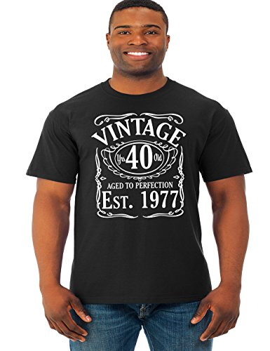 Vintage Since 1977 Mens 40th Birthday T-shirt