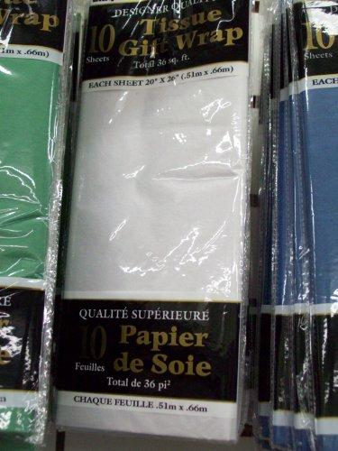 Weißes Seidenpapier
