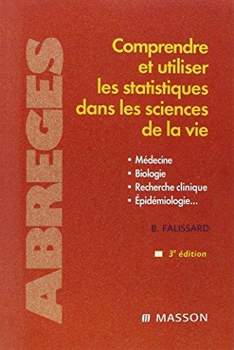 Comprendre et utiliser les statistiques dans les sciences de la vie: POD par Bruno Falissard