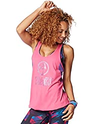 Zumba Fitness Funked Up Bubble Débardeur Femme