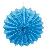 EuroFiestas Farolillo de Papel para Decoración de Feria con Gancho Color Azul