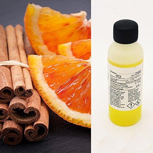 Aromas para velas y difusores, 50 ML, Perfume naranja y Canela
