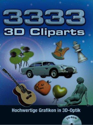 3333 3D Cliparts