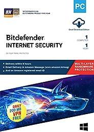 BitDefender Internet Security - 1 PC, 1 Year