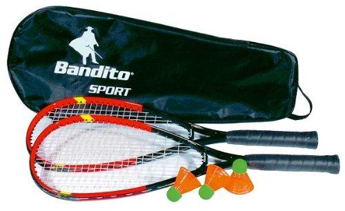 Bandito Speed-Badminton Schläger Set inkl. Tasche