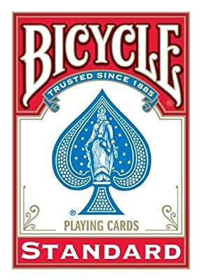 BICYCLE Poker - Dorso Rojo de USPCC