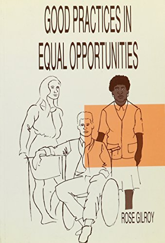 Good Practice in Equal Opportunities (Avebury Series in Planning) by Rose Gilroy (1993-02-18)