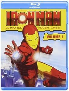 Iron Man: Armored Adventures 1 [Blu-ray] [Import anglais]