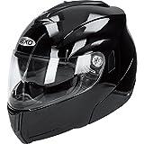Motorradhelm Nexo Klapphelm Basic schwarz L