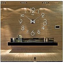 ularma reloj de pared bricolaje decoracin d espejo grande arte diseo