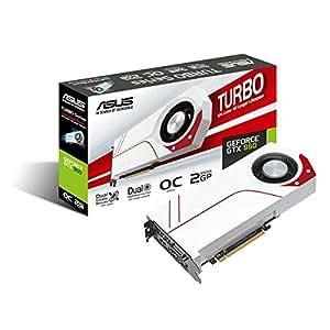 Asus GeForce GTX 960 Turbo-GTX960-OC-2GD5 Scheda Video da 2 GB, Bianco