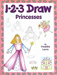 1-2-3 Draw Princesses