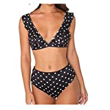 Malloom Pièce de femme Feuille de lotus Bikini Beachwear Maillot de bain...
