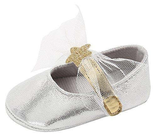 7a362afe4982e La Vogue Chaussures Chaussons Souple Bébé Fille Premier Pas Similicuir