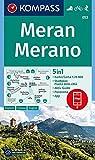 Meran, Merano: 5in1 Wanderkarte 1:25000 mit Panorama, Stadtplan und Aktiv Guide inklusive Karte zur offline Verwendung in der KOMPASS-App. Fahrradfahren. Skitouren. (KOMPASS-Wanderkarten, Band 53)