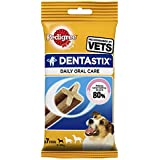 Pedigree Dentastix Small Dog Dental Chews - 7 Sticks(Pack of 10)