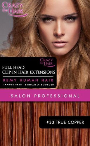 Extensions clips vrais cheveux 18\\