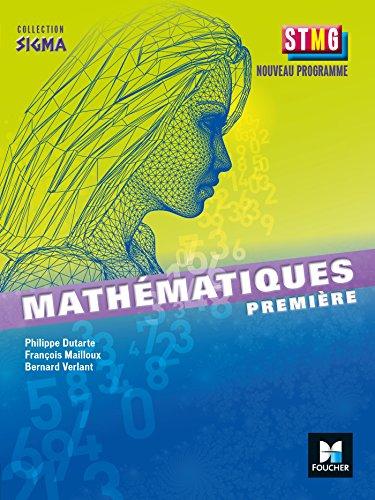 Sigma Mathématiques 1re Bac STMG