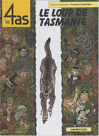 Les 4 As, tome 40 : Le loup de Tasmanie