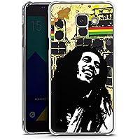 Samsung Galaxy A5 (2016) Housse Étui Protection Coque Bob Marley Reggae Jamaïque