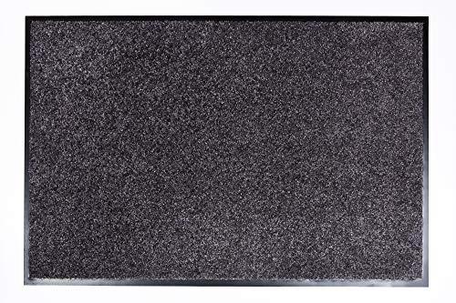 Proper Tex Uni Schmutzfangmatte / Türmatte / Fußabstreifer / robust / langlebig / für den Innenbereich  - blaugrau - 90 x 250 cm