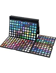 Pure Vie® 252 Colores Sombra De Ojos Paleta de Maquillaje Cosmética - Perfecto para Sso Profesional y Diario