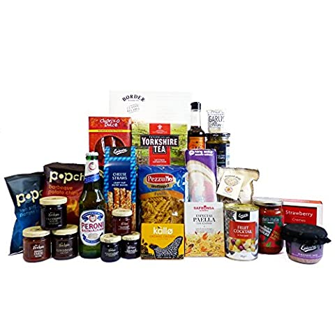 Peroni Beer and Food Selection Hamper for Students 25 Items - Gift Ideas