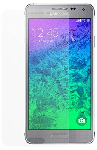 dipos I 2X Schutzfolie matt passend für Samsung Galaxy Alpha Folie Bildschirmschutzfolie