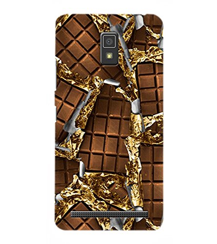 OBOkart Chocolate wallpaper 3D Hard Polycarbonate (Plastic) Designer Back Case Cover for Lenovo A6600 :: Lenovo A6600 Plus
