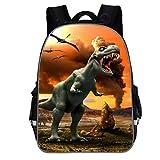 WORMENG Enfant Sac à dos CH1502-A Impression de dinosaure Petit sac Mode Grande...