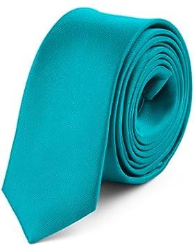 Ladeheid Corbata Estrecha para Hombres SP-5 (150cm x 5cm)