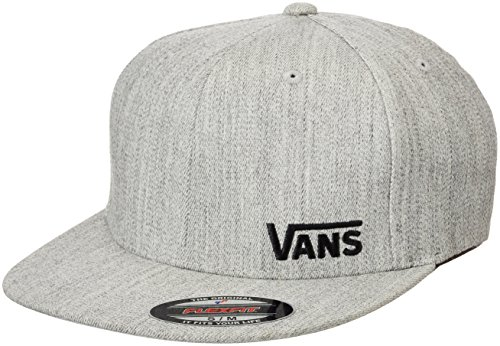 Vans Herren Splitz Baseball Cap, Grau (Heather Grey HTG), Medium -