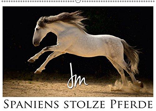 Spaniens stolze PferdeAT-Version (Wandkalender 2017 DIN A2 quer): Spaniens Pferde by Julia Moll (Monatskalender, 14 Seiten) por Julia Moll