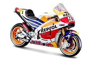 Maisto- Marc Márquez Moto Honda repsol 1:18, (34592)