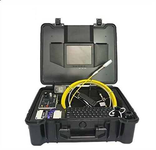 'Gowe 40m mando recargable Powered impermeable Tubo de escape para chimenea cámara de inspección con DVR Sensor tamaño: 1/4; Resolución Horizontal Color 420TVL; sistema de señal: NTSC