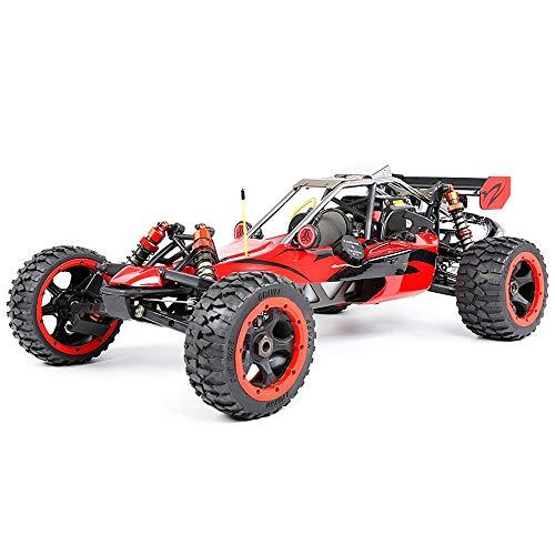 Bqy Terrain RC Auto, ferngesteuertes Auto, hoch mit Kraftstoff for Erwachsene, ferngesteuertes Auto, Modell 29cc, Einzylinder/Vier fest eingebaute Benzinmotoren, 2,4 GHz, 4WD (817x480x255 mm)
